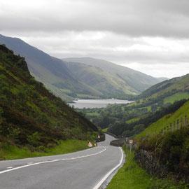 Die meisten Straßen sind gut in Wales