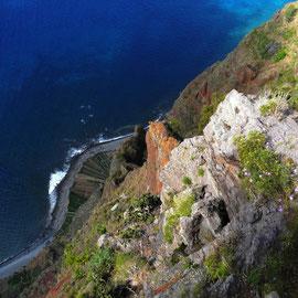 Die Steilküste Gabo Girao