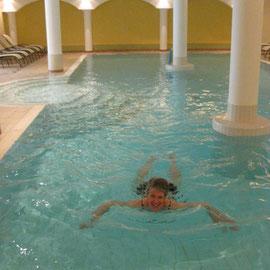 Ich im Pool