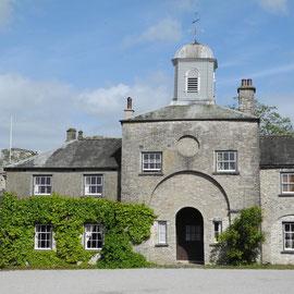Das Sizergh Castle, früher im Besitz der Familie Strickland