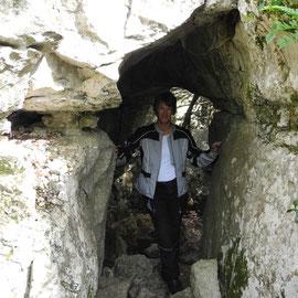 Im Bois de Paiolive gibt es Türme, Riesen, Höhlen und