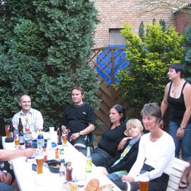Alle waren sich einig: Tolles Event mit tollem Wetter und tollen Leuten.