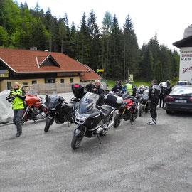 Pause an der Gailberghütte - lecker Mittagessen