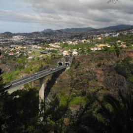 Ausblick über Funchal