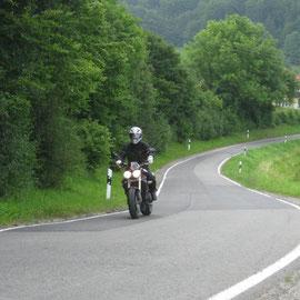 Schöne Fahrt, ohne viel Verkehr