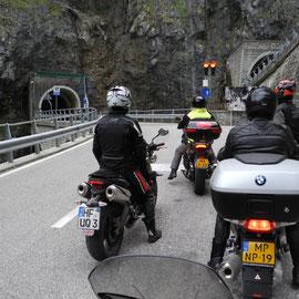 Aber es geht weiter zum abenteuerlichen Passo San Boldo