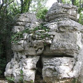 Eine Burg aus Stein