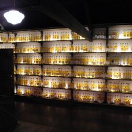Über 40 Whiskys für einen Blended Whisky, der weltberühmt ist.