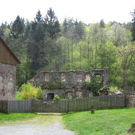 Hier stand ehemals ein Kloster