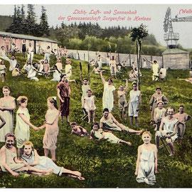 Luft Sonnenbad Sorgenfrei, 1911