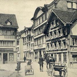 Griessgasse (heute Gossauerstrasse)