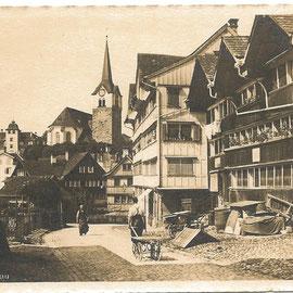 Bachstrasse (Herisau Nr. 25972 , 1916)