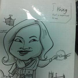 company caricature