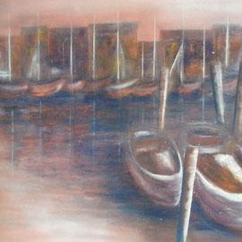 "ART HFrei - ""Saint-Tropez"" - Pastell - 2008"