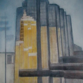 """ART HFrei - """"Vancouver"""" - Pastell - 2008"""