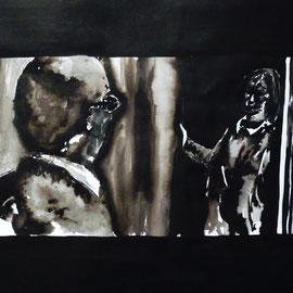 3'27 - Encre de Chine, lavis sur papier (200g) - 50 x 65 cm - 2019
