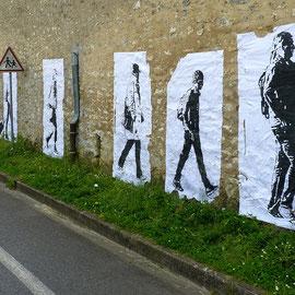 TRANSIT, Festival Des artistes en campagne #7, Savins (Ile-de-France), 2016, © Sébastien Veniat