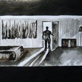 4'08 - Encre de Chine, lavis sur papier (200g) - 50 x 65 cm - 2019