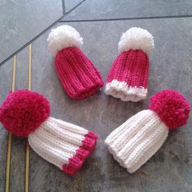 pink-weiß