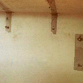 Sanierung beschädigter Wände