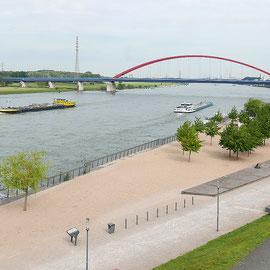 Sandspielfläche im Rheinpark, Aufnahme-Datum: 10.06.2019