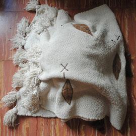 Segona capa: manta de cotó