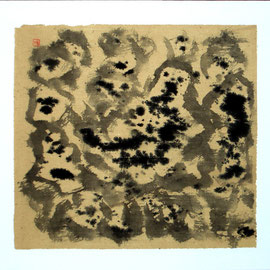 """Water, 24 x 20"""" / 看水, 60 x 50cm, 2011"""
