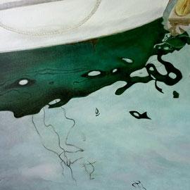 "Spring Water,20""x 30"" / 春水,51cm x 76cm,2013"