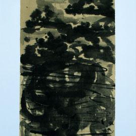 "Cloud and Lotus,24"" x 35.5"" / 云与荷 60 x 90cm, 2011"