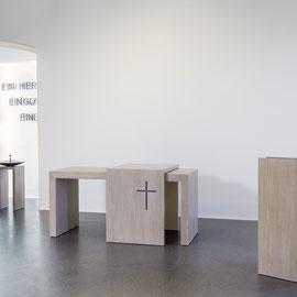 Entwurf und Planung der Prinzipalien für die evangelische Kirche in Gailingen
