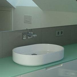 Neubau: Innenraumplanung und Bäderplanung für in ein Doppelhaus in Radolfzell