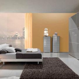 cuisine intérieur design toulouse dressing fermé porte coulissante vitrée gris