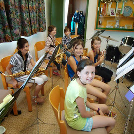 Probe der Jugendmusik