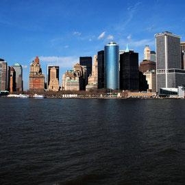 Manhattan skyline from the Staten Island Ferrry