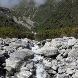 Mill Stream, Chalet Lookout Path, Fox glacier