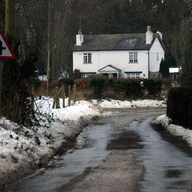 House at the crossroads, West Langdon