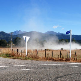 Dust, Motueka Valley