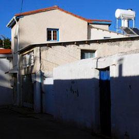 Sun and shade, Skala, Larnaka