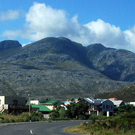 The Kogelberg Mountains from Betty's Bay