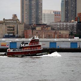 Brendan Turecamo and the Brooklyn shore