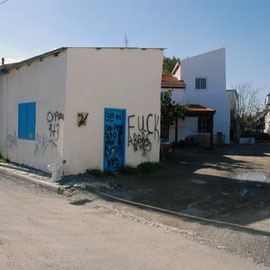 Anti-Turkish Graffiti, Skala, Larnaka