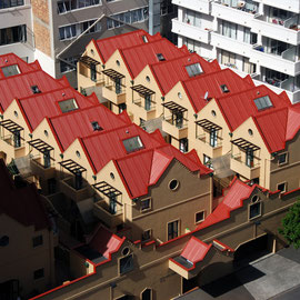 Housing infill, Central Business District, Auckland