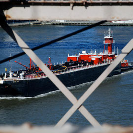 Bouchard tug and barge on the East River
