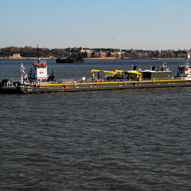 K-Sea tugs and DBL29 Fuelling barge
