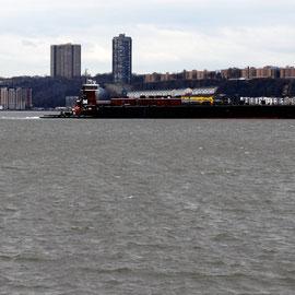 Barney Turecamo on the Hudson
