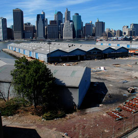 Brooklyn piers and lower Manhattan