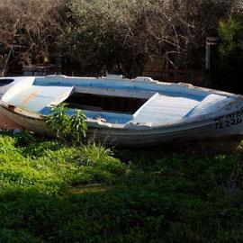 Abandoned Boat, Skala, Larnaka
