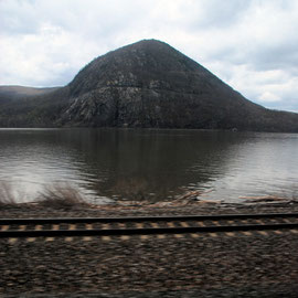 Bear Moutain on the Hudson below Beacon