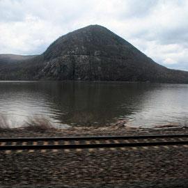 Bear Moutain on the Hudson below Beacon