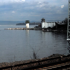 'Sing Sing' Correctional Facility on the Hudson at Ossining